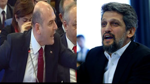 Meclis'te Süleyman Soylu ve Garo Paylan kavgası