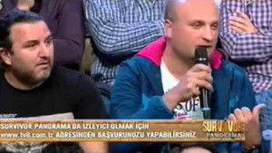 TV8 'de canlı yayında Survivor Semih kavgası