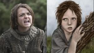 Game of Thrones karakterleri kitapta!