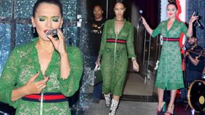 Demet Akalın, Rihanna ile pişti oldu!