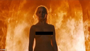 Game of Thrones Khaleesi sahnesi