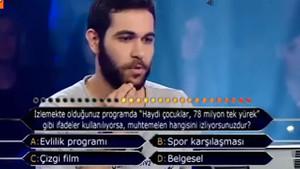 Kim Milyoner Olmak İster'de ODTÜ'lü yarışmacı küfürü bastı!