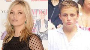Kate Moss'un 18'lik sevgilisi