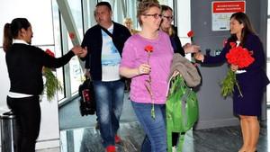 Bodrum'a sezonun ilk turist kafilesi Almanya'dan