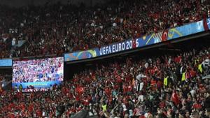 Türkiye - Hırvatistan maçından fotoğraflar