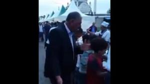 İftar çadırında Suriyeli çocuklara dayak iddiası!