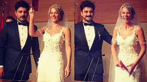 Dilşad Çelebi ve Samet Evci evlendi