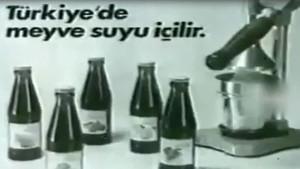 Türkiye'de televizyondan yayınlanan ilk reklam filmi