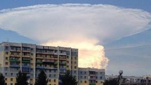 Rusları korkutan bulut... Kıyamet günü geldi!