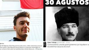 Ünlü isimlerin 30 Ağustos Zafer Bayramı mesajları