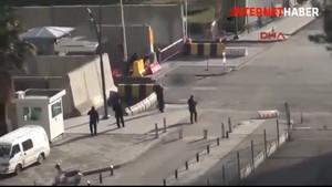 Emniyet Müdürlüğü önündeki terörist böyle öldürüldü