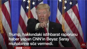 Trump, CNN muhabirine soru hakkı vermedi