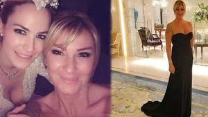 Pınar Altuğ'nun elbisesi tartışma çıkardı