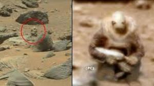 Mars'tan gelen uzaylı asker görüntüsü şok etti