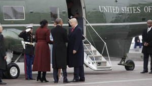ABD Eski Başkanı Barack Obama veda etti