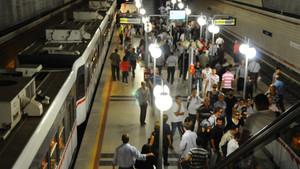 Atatürk Havalimanı metrosunda gasp dehşeti