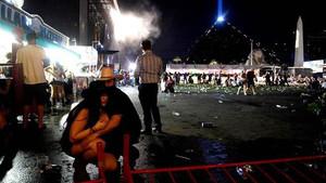 ABD konsere saldırı anı