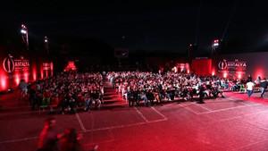 PKK'lılara gerilla denilince film gösterimi yarıda kesildi