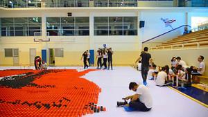 32 Bin karton bardakla muhteşem Türkiye ve Atatürk çalışması