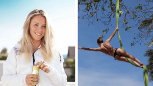 Seksi kayakçı Lisa Zimmermann'dan şaşırtan pozlar