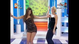 Almeda Abazi'nin yıllar önceki seksi dans görüntüleri