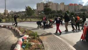 Filistinli protestocuyu kameralar önünde vurdular