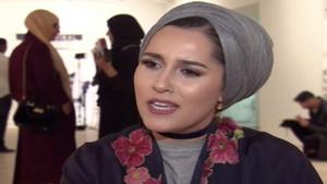 Müslüman kadınlar için defile düzenlendi