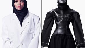 Halima Aden podyumların tozunu attırıyor
