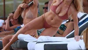 Charlotte McKinney'in bikinisi