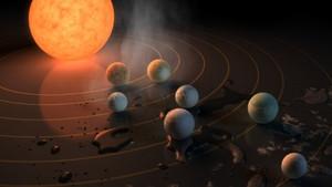 NASA'dan tarihi açıklama: 3'ü yaşanılabilir bölge içinde, 7 gezegen keşfedildi!