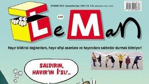 Leman: Saldırın, HAYIR'ın I'sı!..