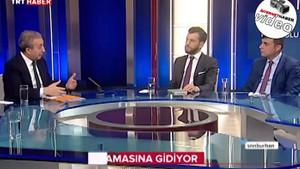 Gazeteci TRT canlı yayınında bayıldı