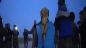Rus askerleri  PKK ve PYD'li teröristlerle birlikte halay çekti