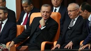 Erdoğan, Meclis'te sadece Bahçeli'yi alkışladı