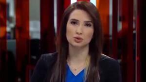 Başak Şengül'ün canlı yayın kazası