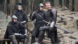 David Beckham'dan ilk! Kral Arthur: Kılıç Efsanesi setinde görüntülendi