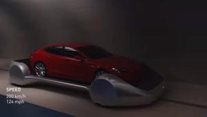 Elon Musk tünelinden video geldi