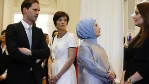 NATO liderleri Brüksel'de! Dikkat çeken kareler...