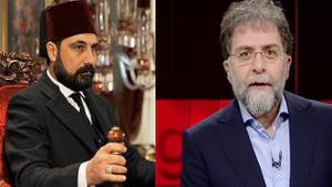 Ahmet Hakan'dan Payitaht Abdülhamid dizisine tepki: Abdülhamid'le alay