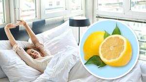 Yatağınızın yanına bir parça limon koyarsanız ne olur?