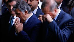 Cenazeye damga vuran anlar: Gül ağladı, Erdoğan ağladı
