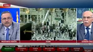 TGRT'de Osman Ünlü'nün camilerle ilgili sözleri tepki çekti