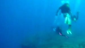Ege depreminden bir gün önce denizaltından çekilen görüntü ürküttü