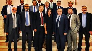 Başbakan Yıldırım, TV'lerin haber genel yayın yönetmenleriyle buluştu
