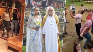 Mesih olduğunu iddia eden Hasan Mezarcı'dan olay düğün!