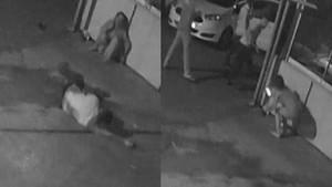 Bar cinayeti kamerada: Kocama baktı dedi ve...