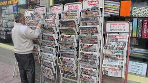 Türkiye'deki gazete ve dergilerin tirajları dibe vurdu