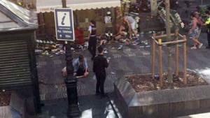 İspanya'da terör dehşeti! Barcelona saldırısından ilk görüntüler