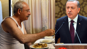 Erdoğan'dan atletli Kılıçdaroğlu fotoğrafına sert tepki: Vatandaşa hakarettir