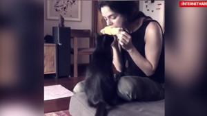 Özge Özpirinçci'den ilginç video